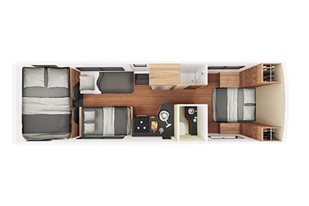 Floor plan - Cruise America, C30