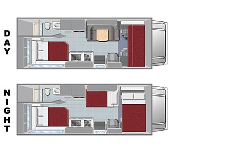 Grundriss El Monte RV Rentals C25