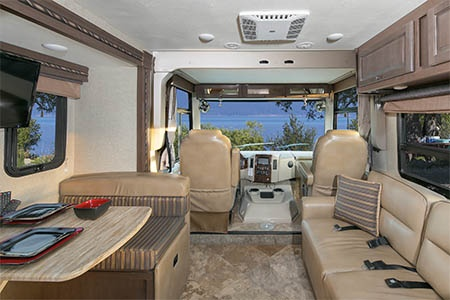 Interior view - El Monte RV Rentals, AF34