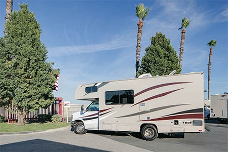 Exterior view - El Monte RV Rentals, C22