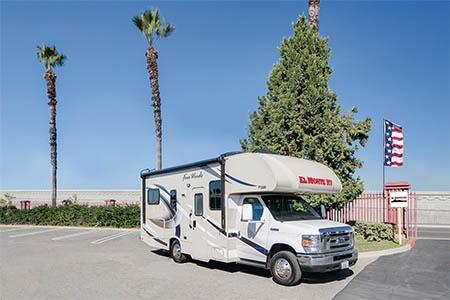 Exterior view - El Monte RV Rentals, C25