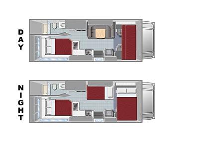 Floor plan - El Monte RV Rentals, C25