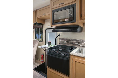 Interior view - El Monte RV Rentals, C25