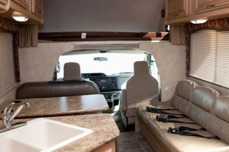 Interior view - El Monte RV Rentals, C28