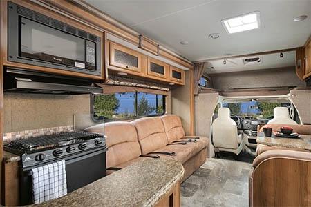 Interior view - El Monte RV Rentals, FS31