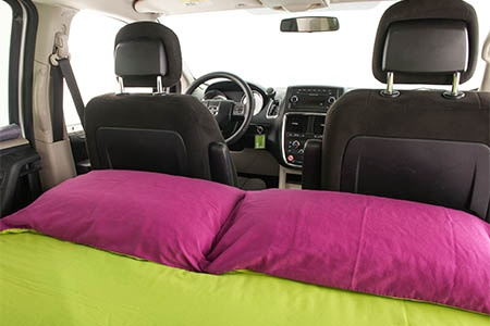 Interior view - JUCY Rentals, JUCY Trailblazer
