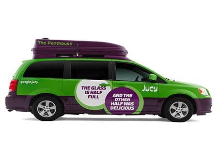 Aussenansicht JUCY Rentals JUCY Trailblazer
