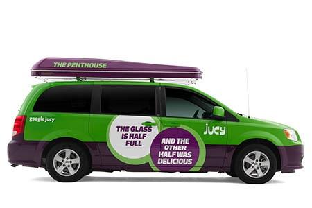 Exterior view - JUCY Rentals, JUCY Trailblazer