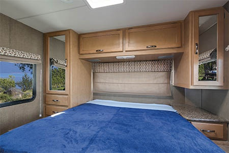 Interior view - Mighty Campers, Motorhome M28