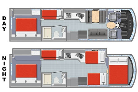Floor plan - Mighty Campers, MA33
