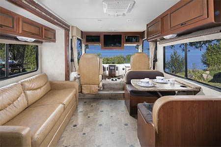 Interior view - Mighty Campers, Motorhome MA34