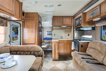 Interior view - Mighty Campers, Motorhome MS31