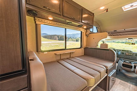 Interior view - Road Bear RV, C22-24