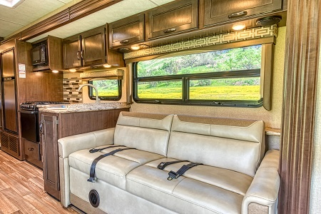 Interior view - Road Bear RV, A30-32S