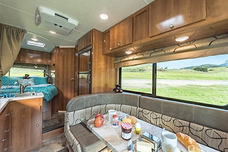Interior view - Road Bear RV, C21-23