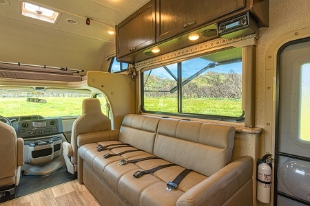 Interior view - Road Bear RV, C28-30S