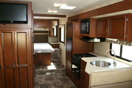 Interior view - Road Bear RV, A29-32S