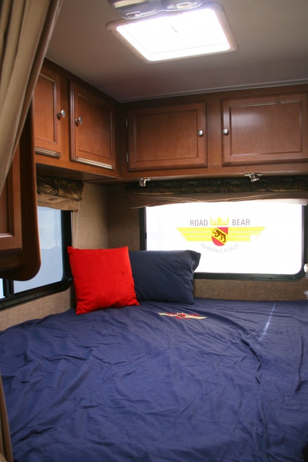 Interior view - Road Bear RV, C19-22