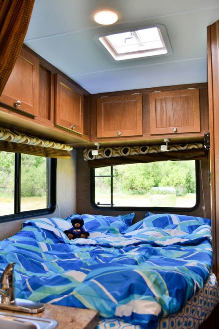 Interior view - Road Bear RV, C20-23