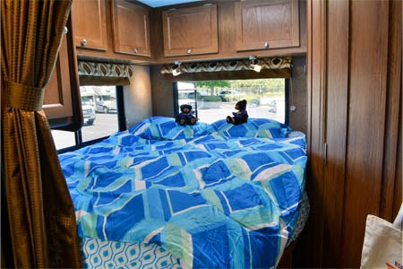 Interior view - Road Bear RV, C21-24