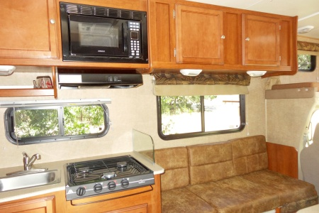 Interior view - Road Bear RV, C23-26