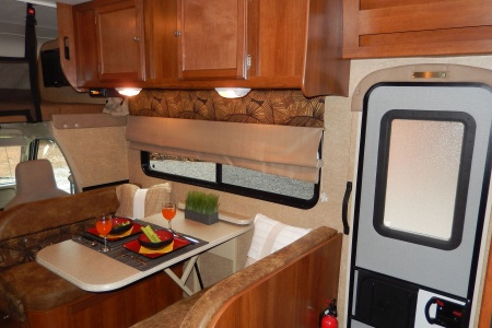 Interior view - Road Bear RV, C27-30S