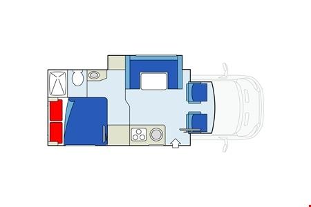 Grundriss Star RV Taurus C22-25