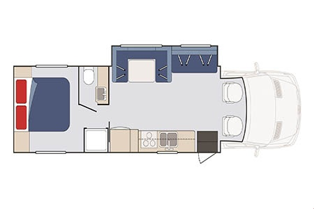Floor plan - Star RV, Perseus C30-33