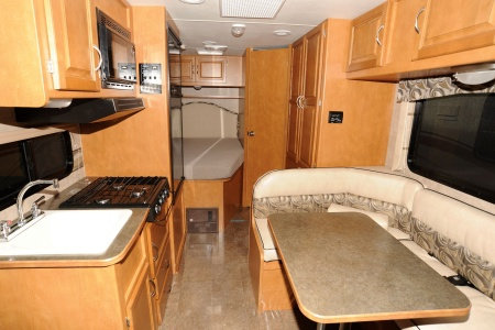Interior view - Star RV, C22-25