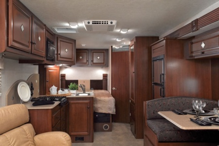 Interior view - Star RV, C25S (C25-27)
